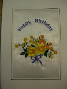 HAPPY BIRTHDAY - Flowers - Yellow Roses - Cards